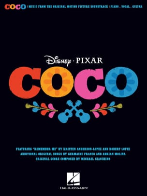 DISNEY / PIXAR - Coco - Movie Music - Sheet Music - di-arezzo.co.uk