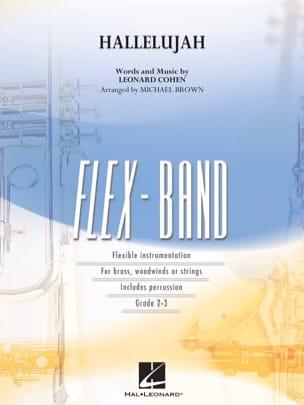 Hallelujah - Flexband - Leonard Cohen - Partition - laflutedepan.com