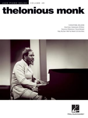 Thelonious Monk - Jazz Piano Solos Series Volume 49 - Thelonious Monk - Partition - di-arezzo.fr