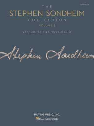 The Stephen Sondheim Collection – Volume 2 - laflutedepan.com
