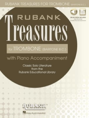 - Rubank Treasures for Trombone Baritone B.C. - Partition - di-arezzo.fr