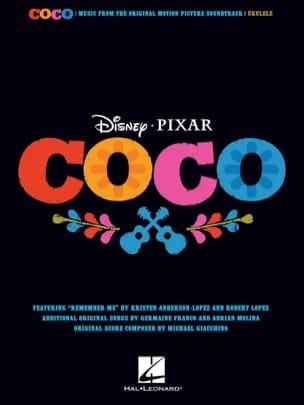 DISNEY / PIXAR - Coco - Musique du Film pour Ukulélé - Sheet Music - di-arezzo.co.uk