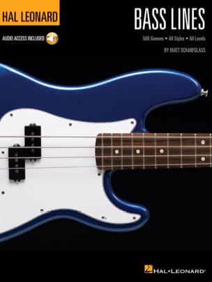 Bass Lines - Matt Scharfglass - Partition - laflutedepan.com