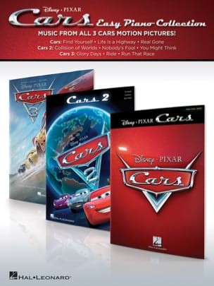 DISNEY / PIXAR - Cars - Music of 3 Films - Sheet Music - di-arezzo.co.uk