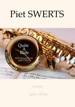Quite A Ride - Piet Swerts - Partition - Saxophone - laflutedepan.com