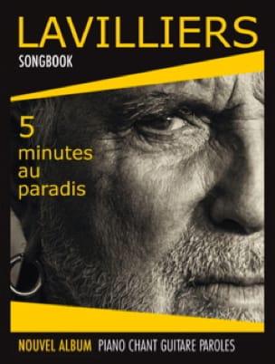 Bernard Lavilliers - 5 Minutes au Paradis - Partition - di-arezzo.fr
