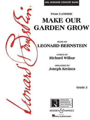 Make Our Garden Grow Leonard Bernstein Partition laflutedepan