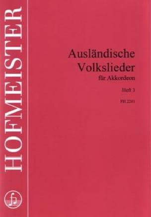 - AUSLÄNDISCHE VOLKSLIEDER - Heft 3 - Sheet Music - di-arezzo.com