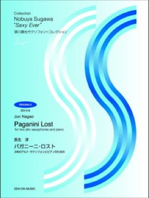 Jun Nagao - Lost Paganini - Sheet Music - di-arezzo.com