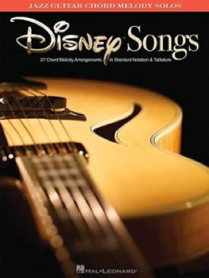 DISNEY - Jazz Guitar Chord Melody Solos - Disney - Sheet Music - di-arezzo.co.uk