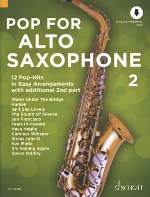 - Pop For Alto Saxophone - Volume 2 - Partition - di-arezzo.fr