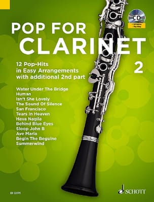 - Pop For Clarinet - Volume 2 - Partition - di-arezzo.fr