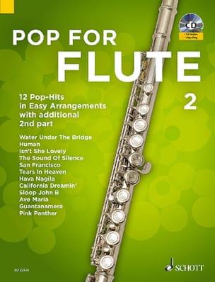 Pop For Flute - Volume 2 Partition Flûte traversière - laflutedepan