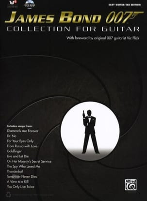 James Bond 007 - Collection for Guitar - Partition - di-arezzo.fr
