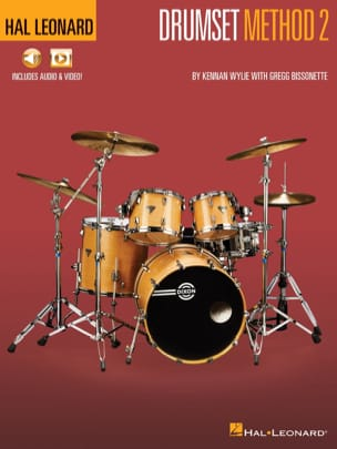 Kennan Wylie & Gregg Bissonette - Hal Leonard Drumset Method - Book 2 - Sheet Music - di-arezzo.com