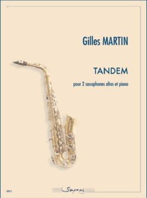 Gilles Martin - Tandem - Partition - di-arezzo.fr