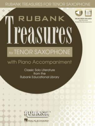 - Tesoros de Rubank para el saxofón tenor - Partitura - di-arezzo.es