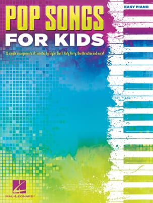 Pop Songs for Kids - Easy piano - Partition - laflutedepan.com