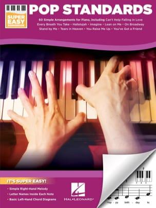 - Super Easy Songbook - Pop Standards - Partition - di-arezzo.fr