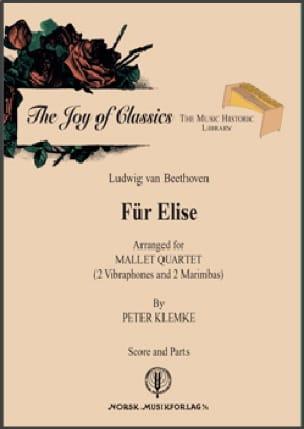 Ludwig van Beethoven - Für Elise (La Lettre à Elise) - Partition - di-arezzo.fr