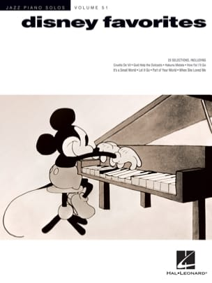 Jazz Piano Solos Series Volume 51 - Disney Favorites laflutedepan