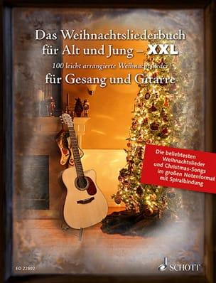 Das Weihnachtsliederbuch für Alt und Jung - Format XXL laflutedepan