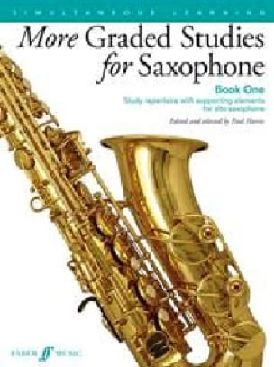 More Graded Studies for Saxophone - Volume 1 - laflutedepan.com