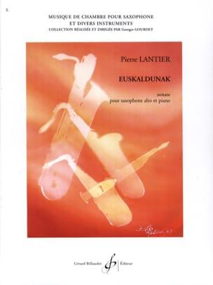Euskaldunak - Pierre Lantier - Partition - laflutedepan.com