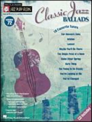 Jazz play-along volume 47 - Classic Jazz Ballads (Version Européenne) - Partition - di-arezzo.fr