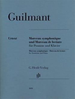 Alexandre Guilmant - Morceau Symphonique Opus 88 et Morceau de lecture - Partition - di-arezzo.fr