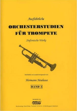 - Orchesterstudien für Trompete Band 3 - Sheet Music - di-arezzo.co.uk