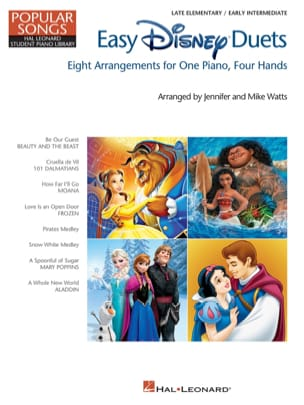 DISNEY - Easy Disney Duets - Popular Songs Series - Sheet Music - di-arezzo.com
