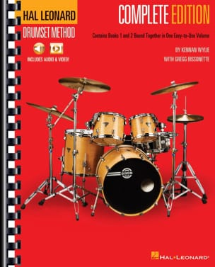 Kennan Wylie & Gregg Bissonette - Hal Leonard Drumset Method – Edition Complete - Partition - di-arezzo.fr