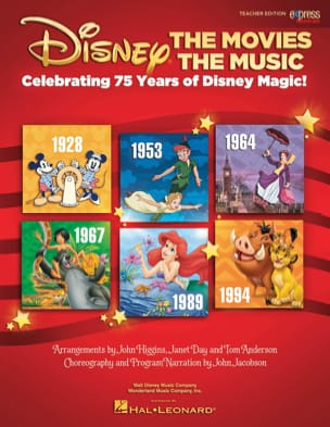 DISNEY - Disney - The Movies, The Music - Sheet Music - di-arezzo.com
