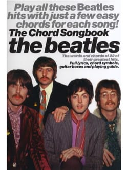 The Beatles - The Beatles Chord Songbook - Partition - di-arezzo.fr