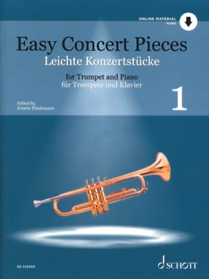 Easy Concert Pieces - Volume 1 - Partition - laflutedepan.com