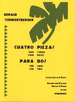 Gerald Schwertberger - Cuatro piezas para dos - Sheet Music - di-arezzo.co.uk