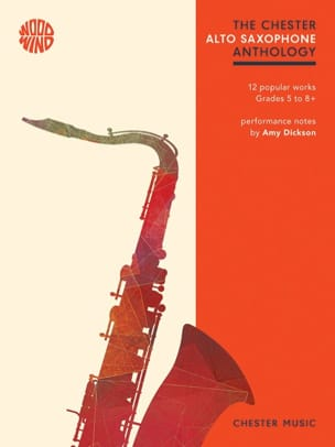The Chester Alto Saxophone Anthology - Partition - di-arezzo.fr