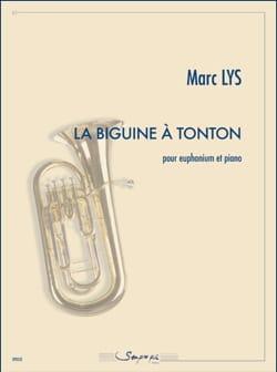 La Biguine à Tonton Marc Lys Partition Tuba - laflutedepan