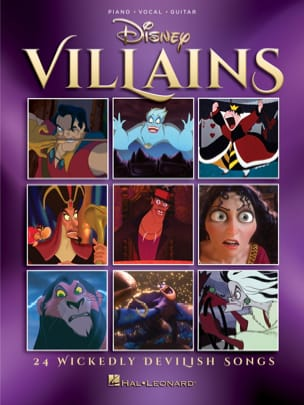 DISNEY - Disney Villains - Sheet Music - di-arezzo.com