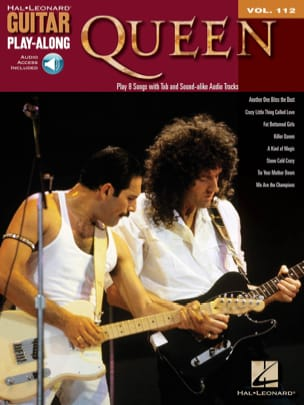 Guitar Play-Along Volume 112 - Queen - Queen - laflutedepan.com