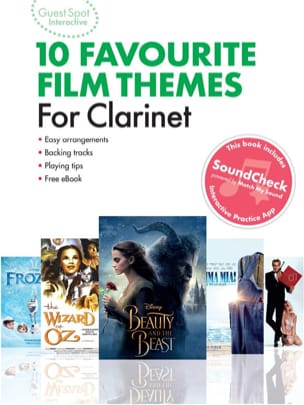 Guest Spot Interactive - 10 Favourite Film Themes for Clarinet - laflutedepan.com