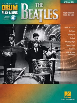Drum Play-Along Volume 15 - The Beatles Beatles Partition laflutedepan