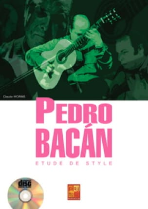 Pedro Bacán - Pedro Bacán - Study of style - Sheet Music - di-arezzo.co.uk