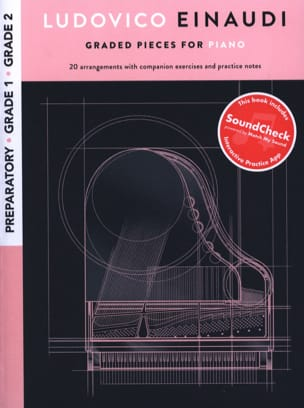 Ludovico Einaudi - Ludovico Einaudi: Graded Pieces For Piano - Preparatory To Grade 2 - Sheet Music - di-arezzo.co.uk