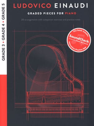 Ludovico Einaudi - Ludovico Einaudi: Graded Pieces For Piano - Grades 3-5 - Sheet Music - di-arezzo.com