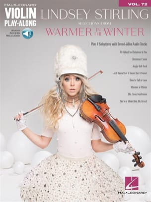 Lindsey Stirling - Violin Play-Along Volume 72 - Selections from Warmer in the Winter - Sheet Music - di-arezzo.co.uk