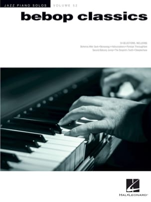 - Jazz Solos Series Piano Volume 52 - Bebop Classics - Sheet Music - di-arezzo.co.uk