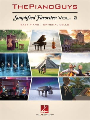 ThePianoGuys - Simplified Favorites - Volume 2 - Sheet Music - di-arezzo.co.uk