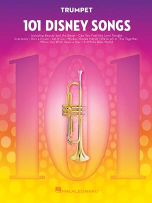 101 Disney Songs DISNEY Partition Trompette - laflutedepan